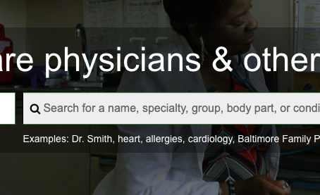Anatomy of Physician Compare
