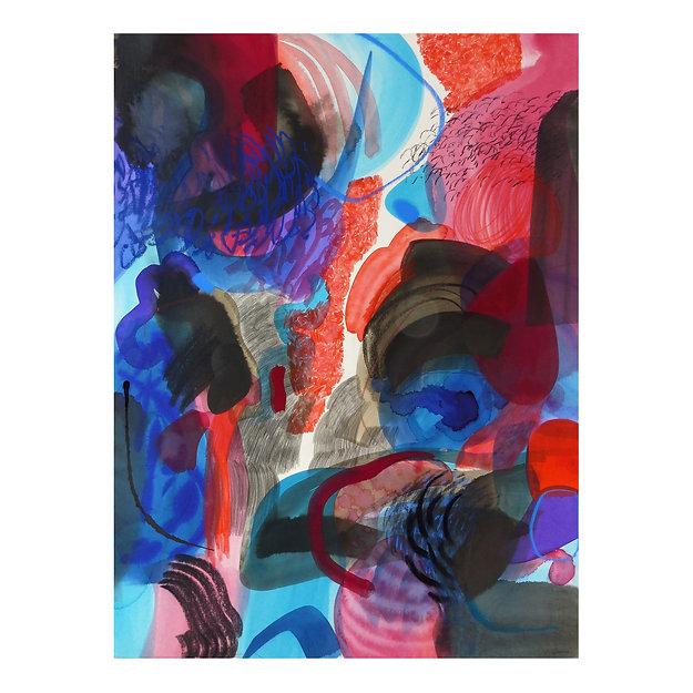 gorges - circulations 3, Célina Guiné, 2020