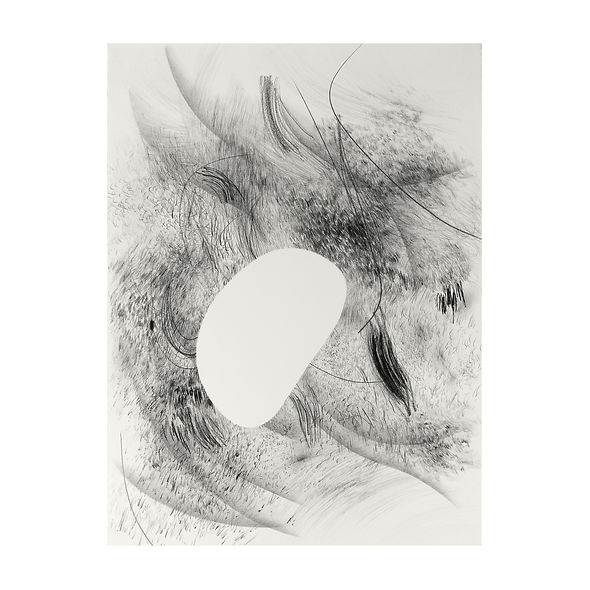 creuser voix, fouiller silence, série dessins, Célina Guiné, 2021