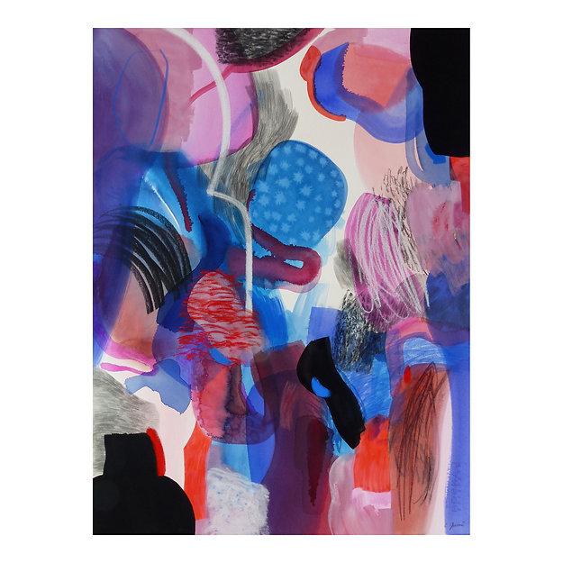 gorges - circulations 2, Célina Guiné, 2020