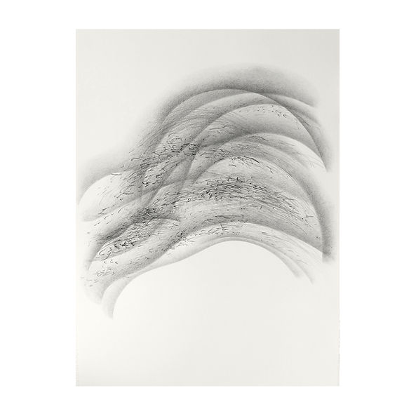 creuser voix, fouiller silence [strates], Célina Guiné, 2021