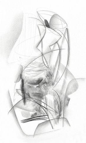 structures fluides, dessin, Célina Guiné, 2019