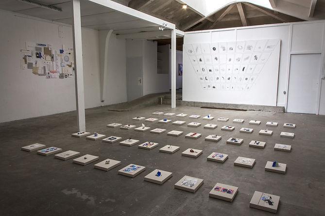 Installation Archives sensibles, cérémonie d'abandon, Célina Guiné, 2020