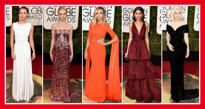 GOLDEN GLOBE 2016 RED CARPET AWARDS -