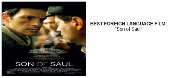 SON OF SAUL CRITICS CHOICE