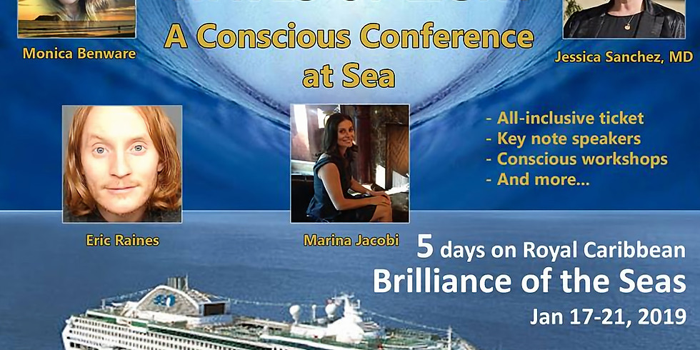 Waves of Light ~ A Conscious Conference at Sea