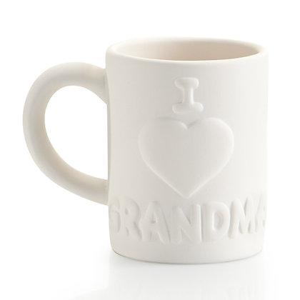 I Love Grandma Mug 12oz.