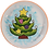 Thumbnail: Christmas Tree Party Plate