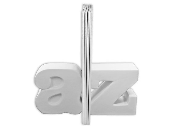 A to Z book end