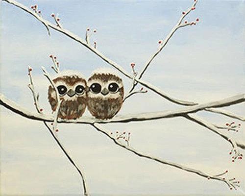 Owl Babies Canvas