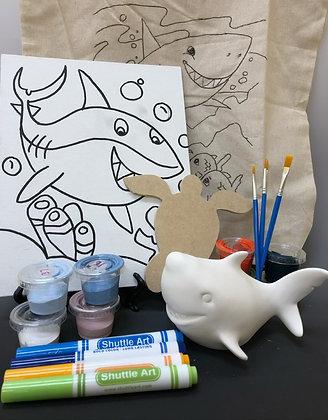 Fundraiser-Shark Tote-o-Fun