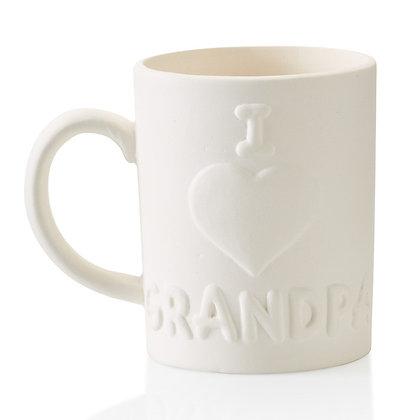 I Love Grandpa Mug 12oz.