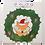 Thumbnail: Fox in Wreath Party Tile