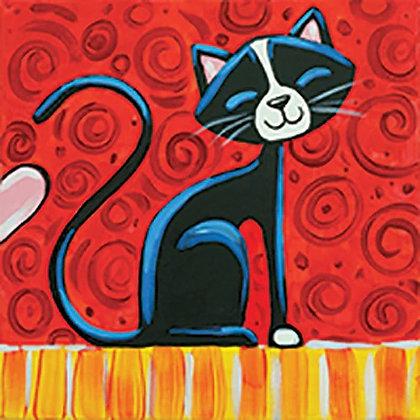 Cool Cat Canvas