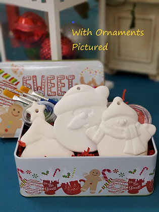 3 Flat Ornament Gift Set