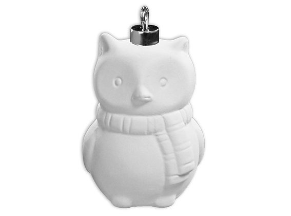 Fundraiser- 3D Winter Owl Ornament