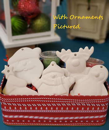 Fundraiser-5 Flat Ornament Gift Set