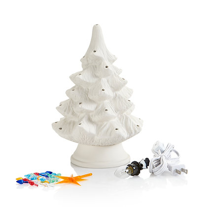 Small Christmas TreeW/Base Light Kit
