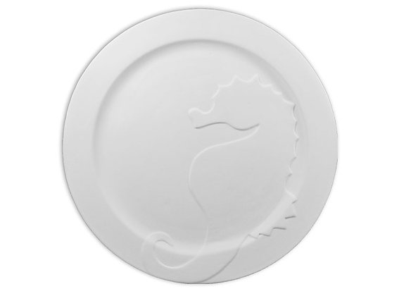 Seahorse Rim Plate