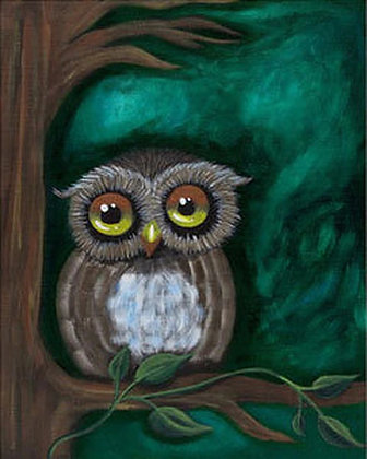 Owl Be Watching Canvas