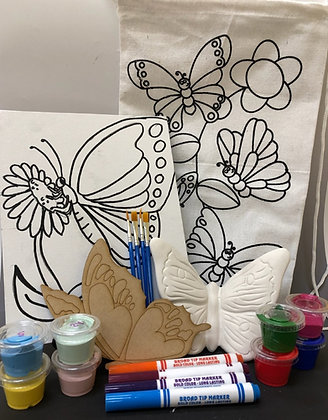 Fundraiser-Butterfly Tote-o-Fun