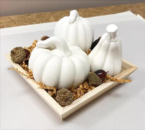 Mini Pumpkin Table Scape