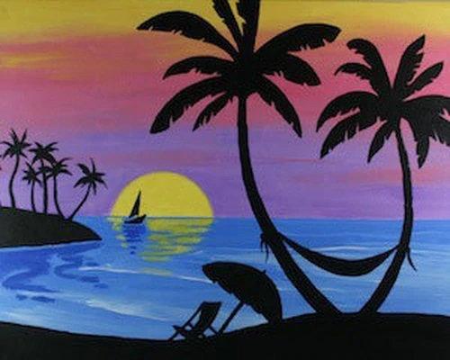 Paradise Found Canvas