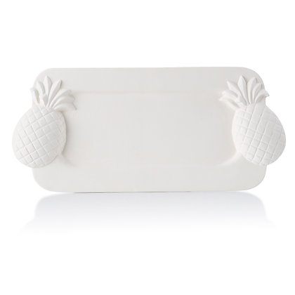 Pineapple Handled Platter