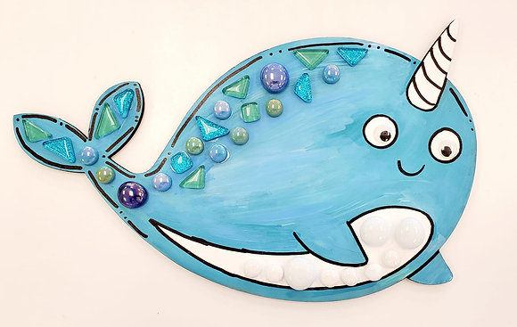 Narwhal Mixed Media Project
