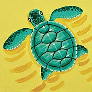 Baby Sea Turtle Canvas