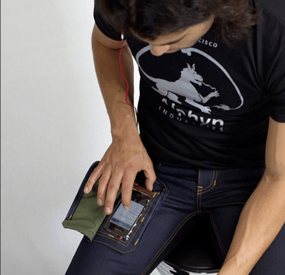 Jeans for smartphone users