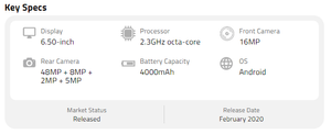LG K61 Full Specifications
