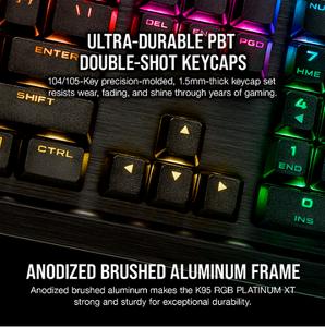 Corsair K95 RGB Double Shots Keycaps