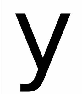 25th letter of alphabet
