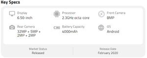 LG K51S Full Specifications