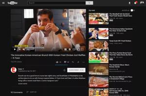 youtube dark mode on desktop