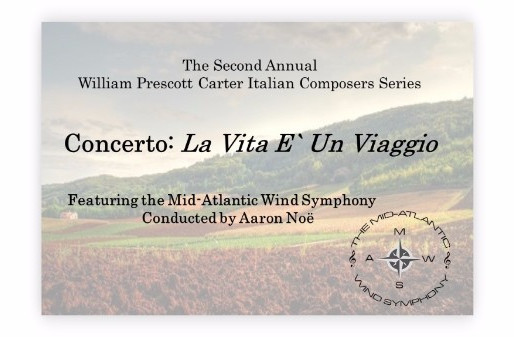 October 27. 2017, Annual Italian Composers Concert