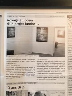 Journal L'Omnibus, région Orbe