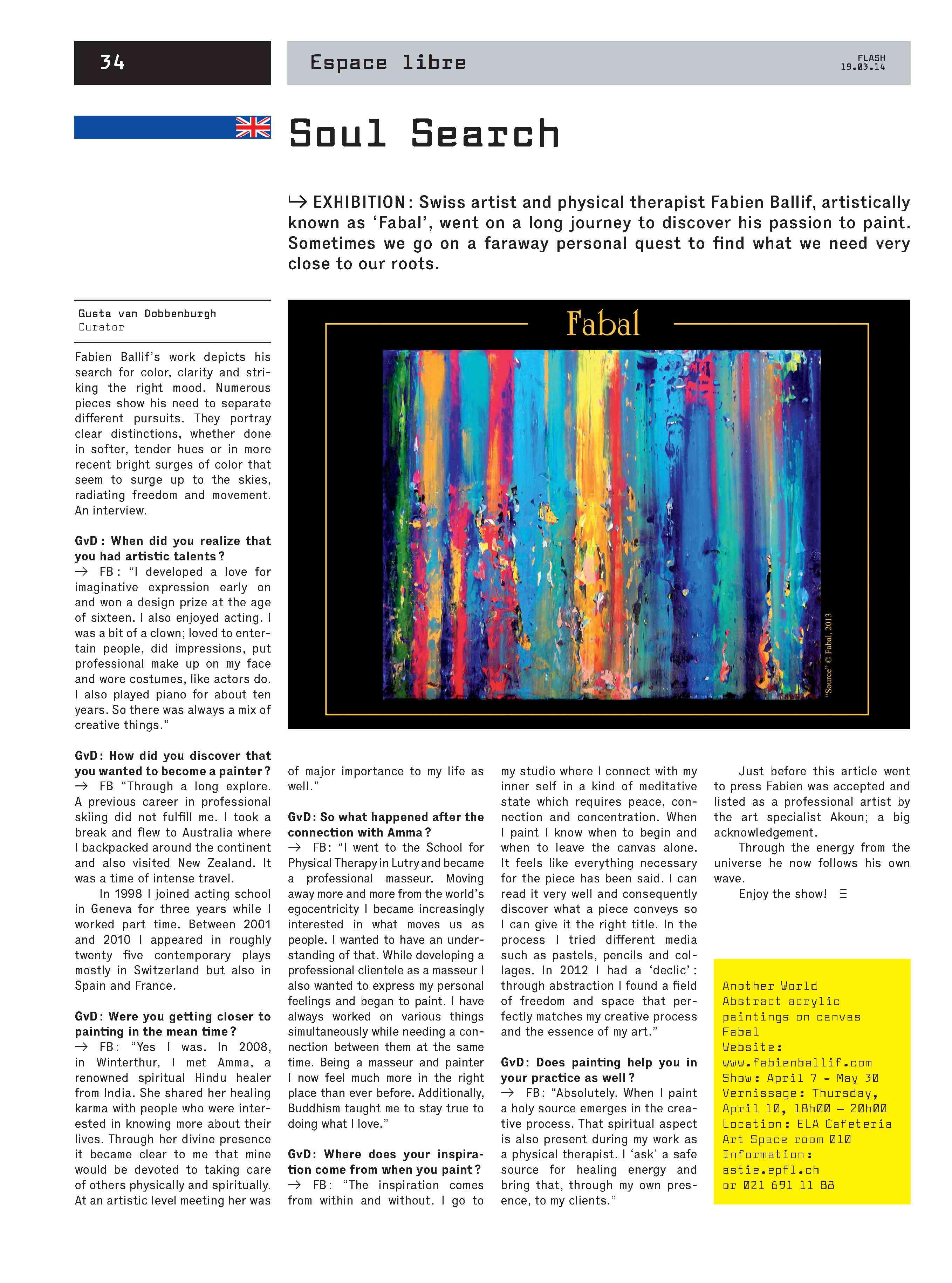 Journal Flash EPFL
