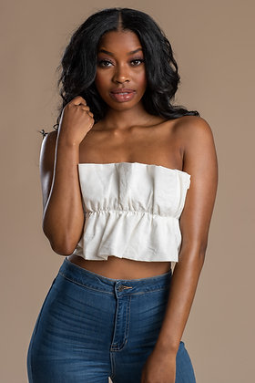 Daisy Strapless Top