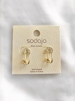 Play it Safe Earring Studs