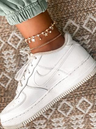 Butterfly Kisses Ankle Bracelet Sets