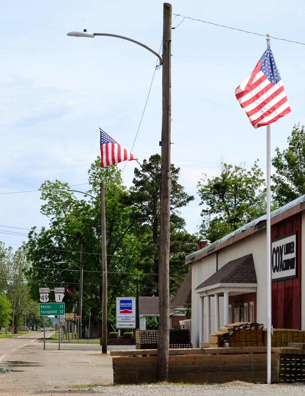 Highway 49 - end of the road Piggott Arkansas