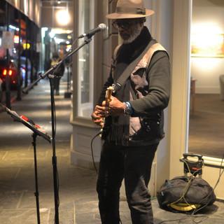 Street Musician, French Quarter
