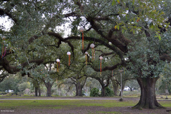 City Park Ornaments