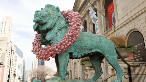 Art Institute of Chicago: Lions