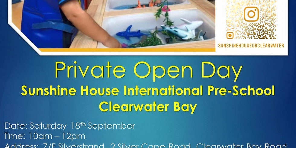 Clearwater Bay Campus Private Open Day (free RugbyTots class)