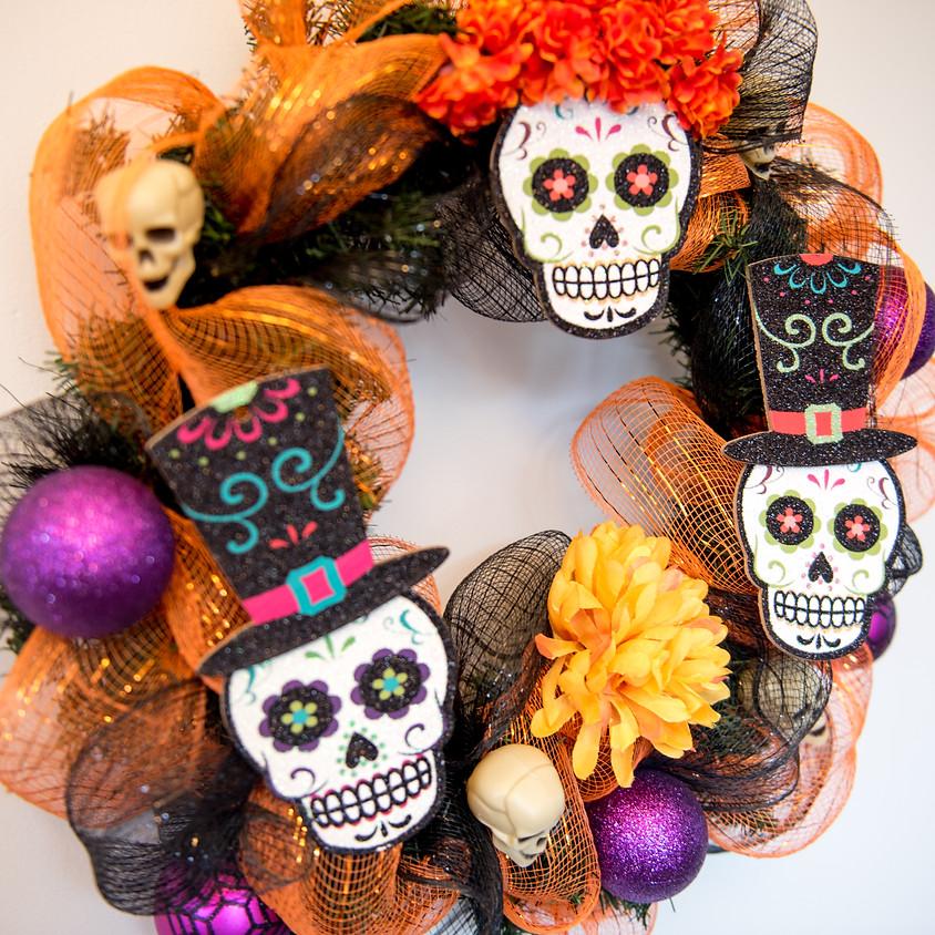 Dia de Muertos Wreath Making with Laura Rodriguez