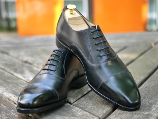 Huntsman Leather Kennedy II Cap-Toe Oxfords Review