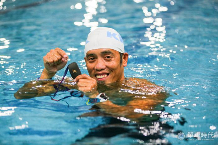 百鐵教父賴曉春-游泳訓練時,我也需要聽音樂
